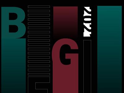 BEGIN poster website flat minimal typography vector branding art 3d art illustration design
