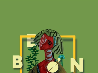 BEGIN, poster, copyright copyright artist minimal begin green red poster design art