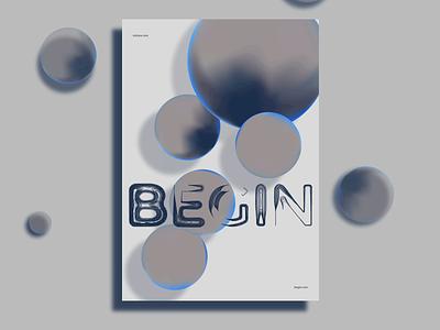 Poster, volume one vector 2021 ux poster branding art minimal typography 3d art illustration design
