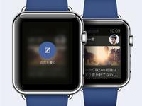 Facebook UI on APPLE WATCH JP.ver [Share]