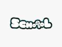 SCHOOOL logo design