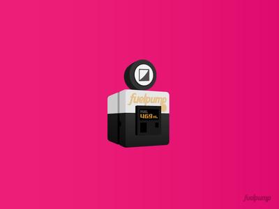 fuelpump icon design