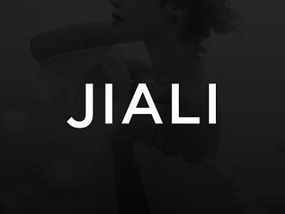 JIALI logo design typo logo design