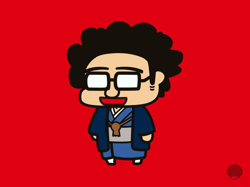 MontBlanc. Character Illust : HNY2018ver illustrator illust design character