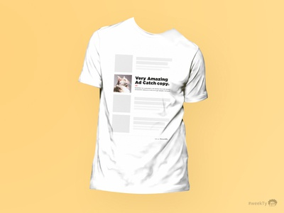 INFEED AD T-SHIRT ad design tshirt
