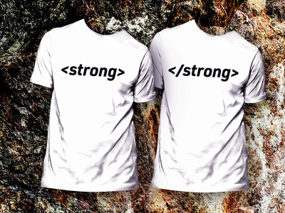 <strong></strong> T-SHIRT strong tshirt