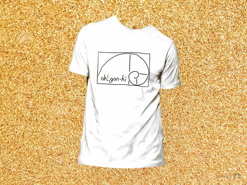GOLDEN T-SHIRT golden graphic tshirt