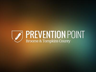 Prevention Point Logo logo syringe shield