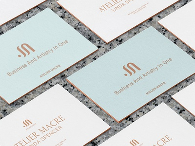Logo design for atelier vector logo design branding