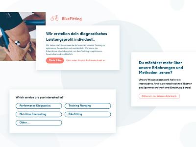Diagnose Berlin - Website Redesign typography branding front-end design ui responsive web design