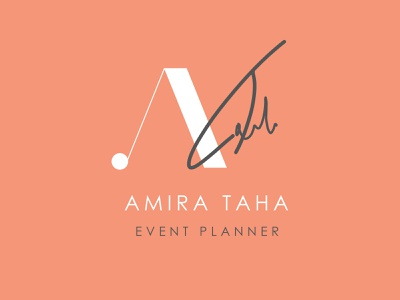 Personal Logo for an Event planner illustration vector logo flat minimal branding design