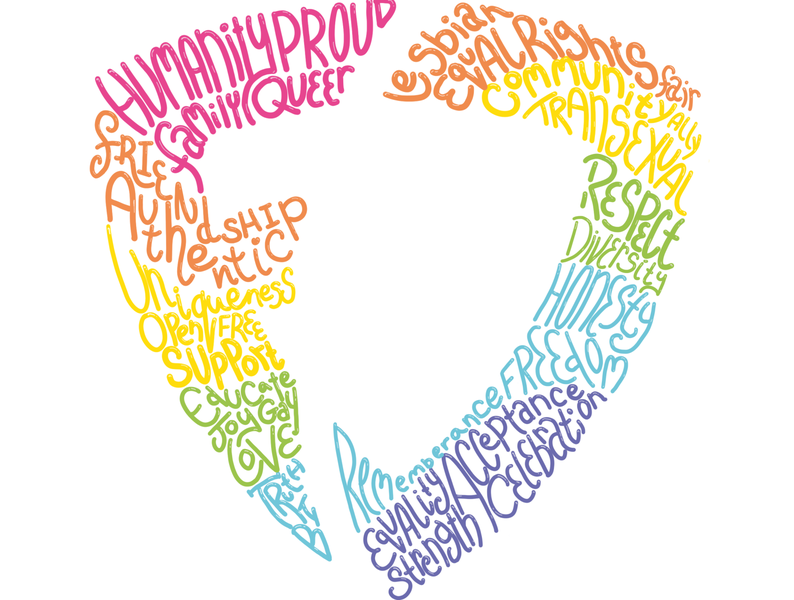 FanDuel Pride 2020 hiring lgbtq equalrights applepencil ipad procreate app handdrawn handlettering typedesign fanduel glasgow love diversity rainbow procreate pride month pride