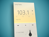 Lamp Radio