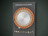 Exposure calculator