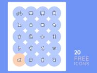 20 Free Icons