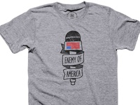 Enemy of America TEE