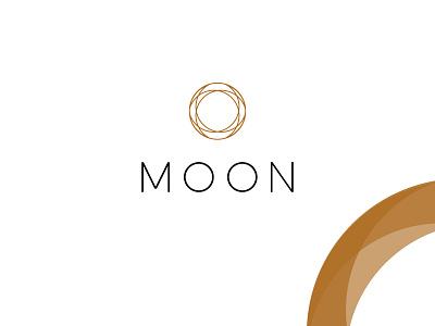 Moon Concept eclipse moon craftedbyclover logo branding