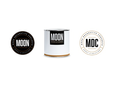 Moon Mockup badge craftedbyclover logo branding eclipse moon