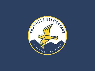 Falcon Branding illustration design craftedbyclover branding logo school