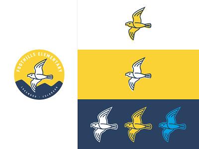 Falcon Branding - variations craftedbyclover logo branding icon illustration falcon
