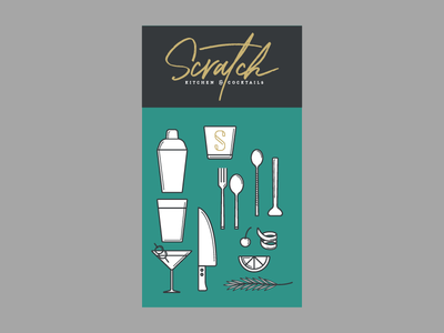 Scratch Icons logo branding restaurant branding icon set icons
