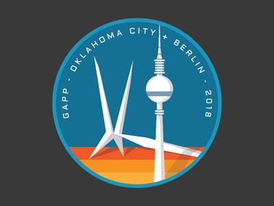 OKC + Berlin Badge