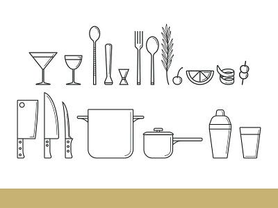 Scratch Icons logo branding restaurants icons