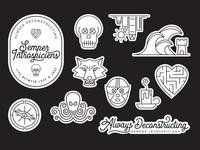 Semper Introspiciens - stickers