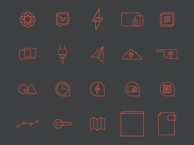 Clover Partners Icon Pack icon pack branding logo illustration icons