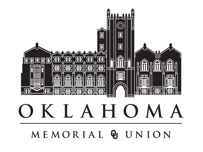 OU Memorial Brand branding university of oklahoma logo illustration finch