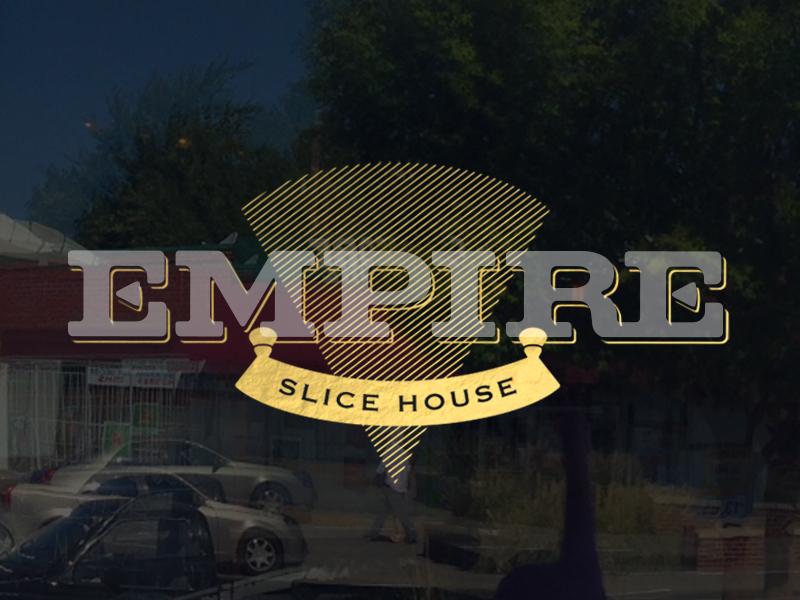 Empire Brand branding logo signage business cards