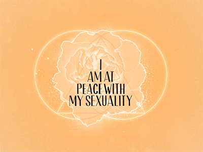 I am at peace with my sexuality by Amber Morgan on Dribbble