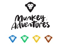 Final logo for Munkey Adventures