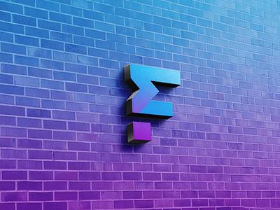 Realistic 3D Wall Logo Mockup psd mockup branding new mockup psd premium latest free mockup free design