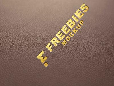 Leather Logo Mockup psd download new mockup latest design premium free mockup psd mockup leather mockup