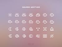 Square Weather Light