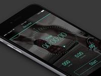 a jogging app