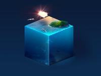 the ocean cube
