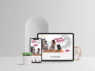 Knock Kcock! development uae jordan ux web design