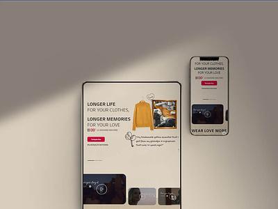 Wear Love More jordan uae web ux development design