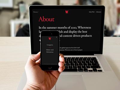 Whereness sweden jordan wordpress web development