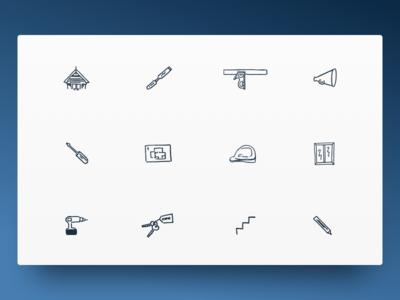Custom Illustrative Icons