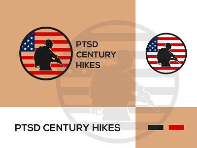 PTSD icon app minimal logo illustrator illustration graphic design flat design branding