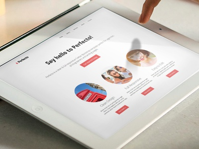 Perfecto Template template bootstrap