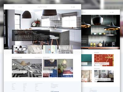 New Project  minimalistic commerce design
