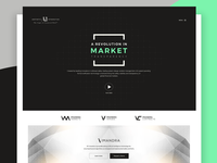 Aesthetic Landing page Exploration