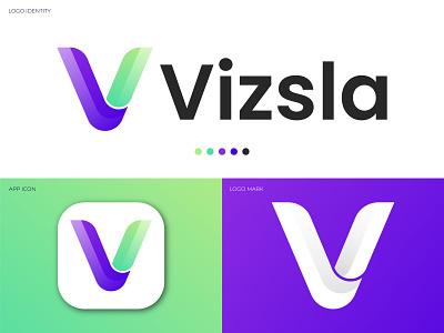 Modern Logo Design, Initial Letter v Logo, Letter Logo. design company creative logo designer logo design brand logos logomaker