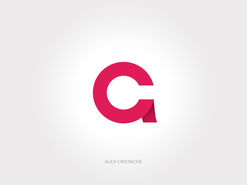 Personal Monogram (AC) typography letters c a identity monogram branding logo