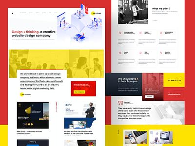 Creative Agency - Web Ui web site design web site ui  ux design ui desgin ui ui design website web website design agency website agency webdesign web design design