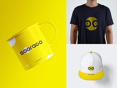 SOORAGO Logo branding design branding concept branding logo design concept music logos logo designs logo design logo